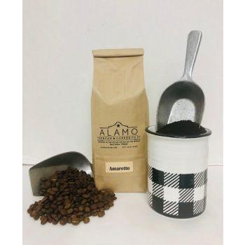 Amaretto Coffee from Alamo Pecan & Coffee in San Saba, TX
