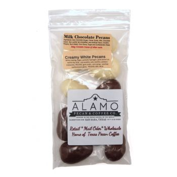 Snack Pack Chocolate/White Chocolate Mix Pecans
