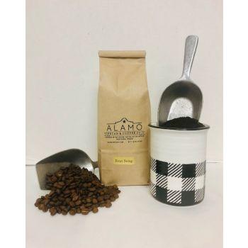 Texas Swing Coffee from Alamo Pecan & Coffee in San Saba, TX