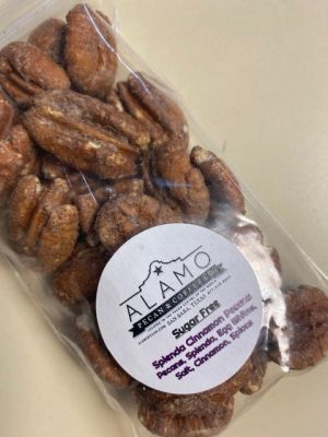 Sugar Free Splenda Cinnamon Pecans from Alamo Pecan & Coffee in San Saba, TX