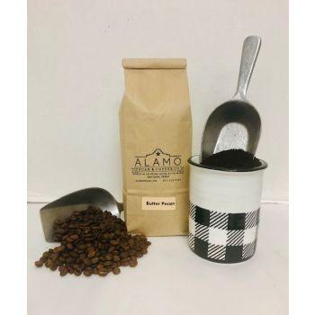 Butter Pecan Coffee from Alamo Pecan & Coffee in San Saba, TX