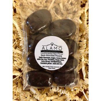 Dark Chocolate Pecans Snack Pack from Alamo Pecan & Coffee in San Saba, TX
