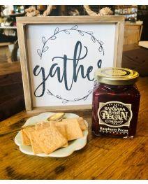 Raspberry Pecan Preserves at Alamo Pecan & Coffee in San Saba, TX