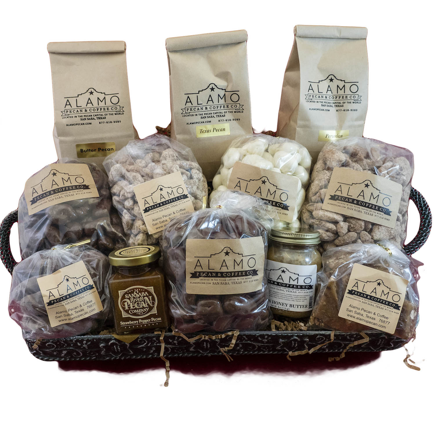Make Your Mail Order Holiday Gifts Alamo Pecan Special